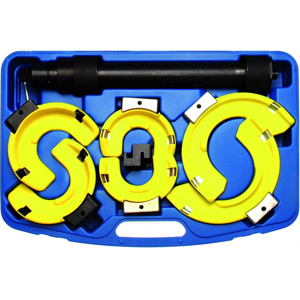 Spring Compressor Set with 3 Pairs of Jaws (980)