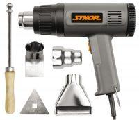 HOT AIR GUN 1500W WITH ACCESSORIES /STHOR/  (79328)