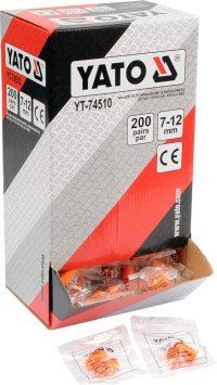 Ear Plugs Foam PU 34dB 200PCS (YT-74510)