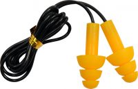 EAR PLUGS WITH CORD SILICONE 28dB 50PAIRS (YT-7456)