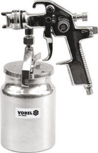 SPRAY GUN WITH FLUID CUP HVLP 1000ML (80901)
