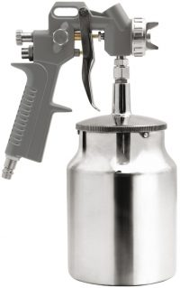 SPRAY GUN W. FLUID CUP 1000CM3 (81617)