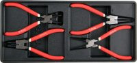 Tool Tray with 4-piece Circlip Pliers Set (YT-55443)