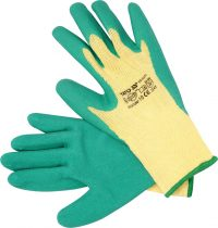 "GLOVES COTTON/PE LATEX 10"" (YT-7471)"