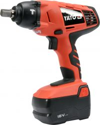 "Cordless Impact Wrench Set With Sockets 1/2"" 280 NM (YT-82931)"