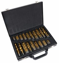 Twist Drill Set | HSS | titanium nitrated | 1 - 10 mm | 170 pcs. (1994V)