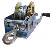 Hand winch   two speeds   1125 kg / 2500 LBS (ES-2000)