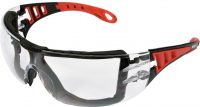 SAFETY CLEAR GLASSES WITH ELASTIC STRAP (YT-73700)