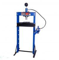 Hydraulic Shop Press with Gauge   20 ton (ZX0901F)