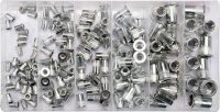 150 PCS M3-M10 MIXED THRE ALUMI RIV NUTS (YT-36460)