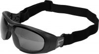 GOGGLES GRAY WITH STRAP (YT-73765)