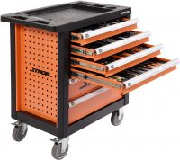 6 DRAWERS ROLLER CABINET With 302pc TOOL INSERT (58550)