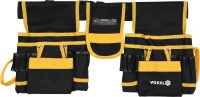 TOOL BELT WITH TWO SLIDING BOWLS AND POCKETS (78752)