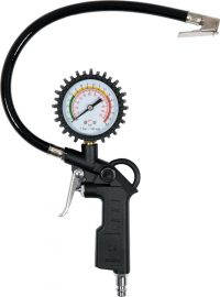 TIRE-INFLATING GUN W. MANOMETER (81651)