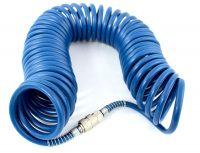 Spiral Recoil Air Hose | 8 x 12 mm / 10 m | PU (PU10M)