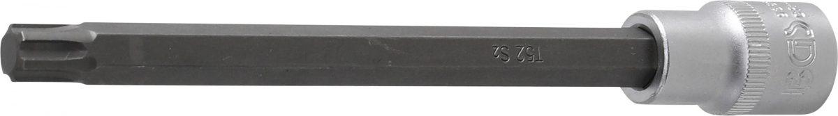 "Bit Socket   length 168 mm   12.5 mm (1/2"") drive   T-Star for VAG polydrive cylinder head bolts (9386)"