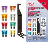 Car Fuse Assortment | 97 pcs. (8126)