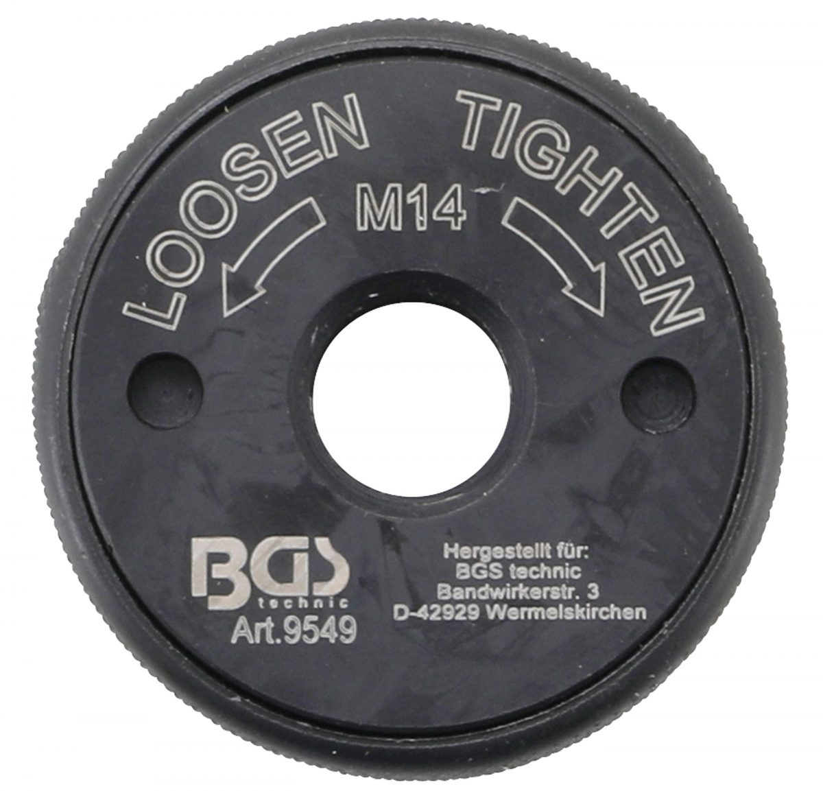 Quick Release Nut | for Angle Grinder | M14 (9549)