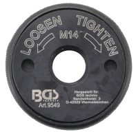 Quick Release Nut   for Angle Grinder   M14 (9549)