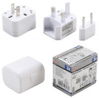 Travel Plug Adaptor | 3 pcs. (9798)