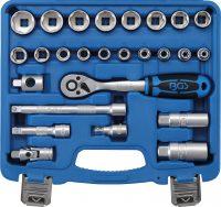 "Socket Set   10 mm (3/8"") drive   26 pcs. (2227)"