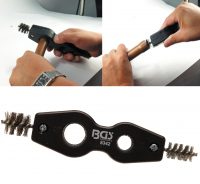 """Inner-Outer Copper Pipe Cleaning Brush 