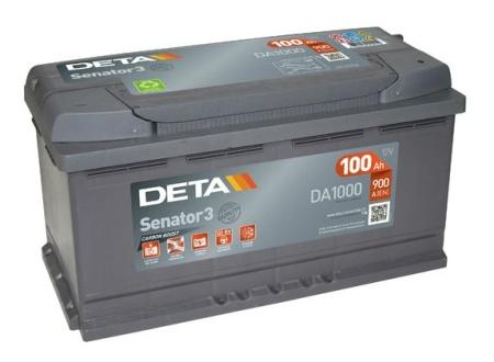 Akumulators Deta Senator 3 AK-DA1000
