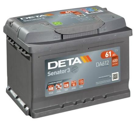 Akumulators Deta Senator 3 AK-DA612