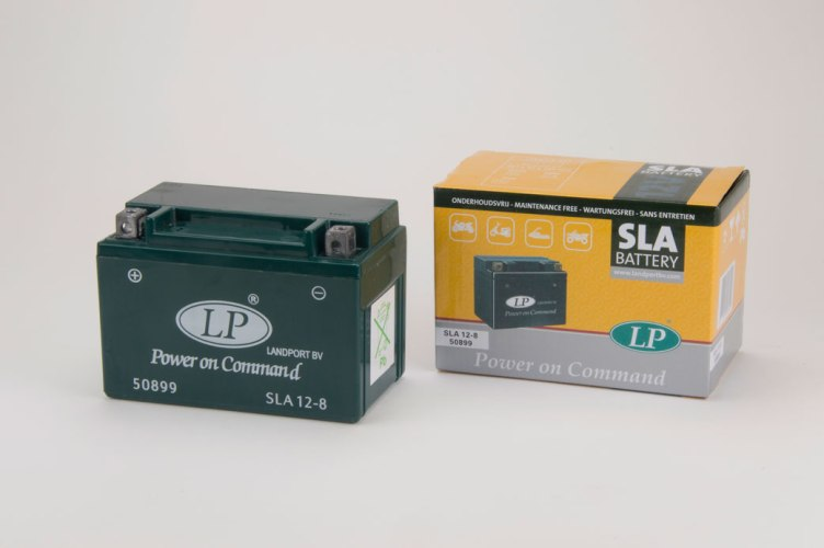 Akumulators Landport Moto AK-SLA12-8