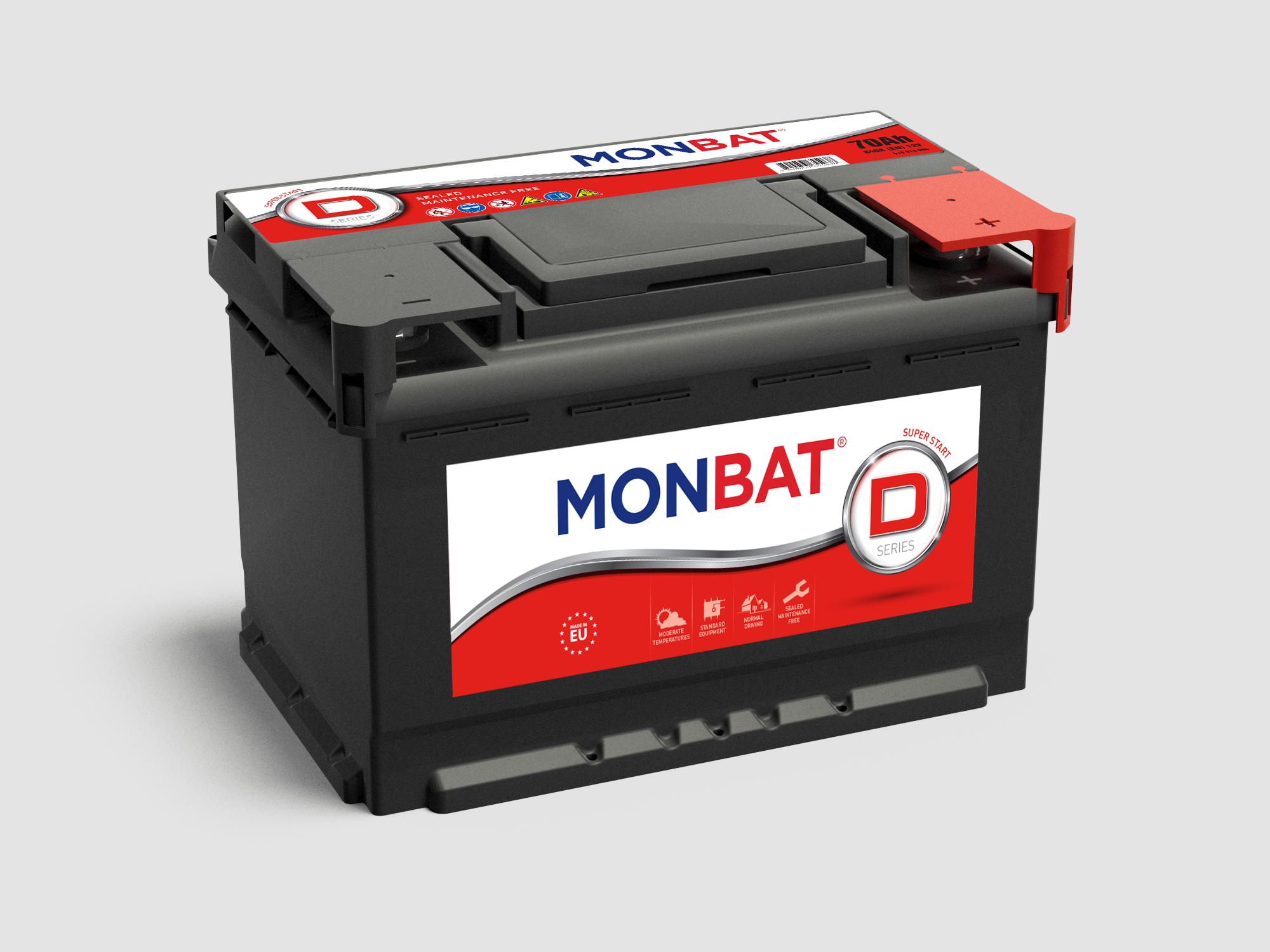 Akumulators Monbat Dynamic AK-MB-600044084
