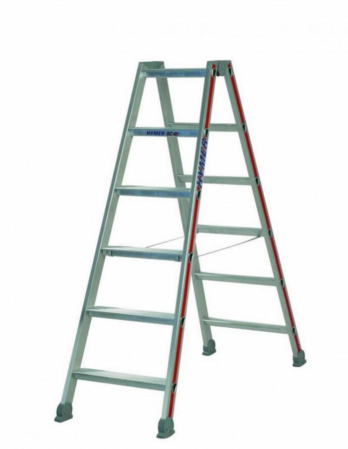 SC 40 stalažu kāpnes 2x7 4024