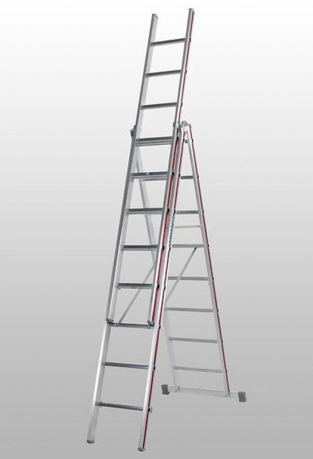 Trīsdaļīgās universālās kāpnes