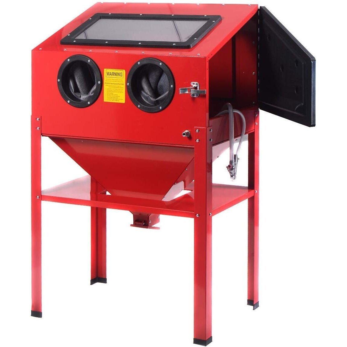 Smilšu strūklošanas iekārta - 220l slēgta tipa kamera